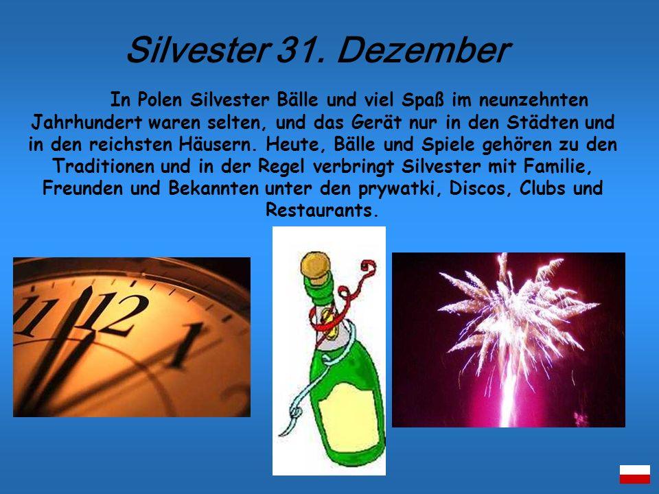 Silvester 31. Dezember