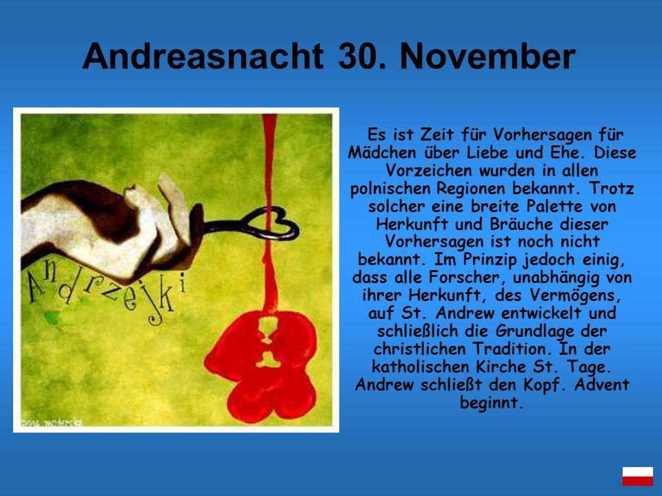 Andreasnacht 30. November