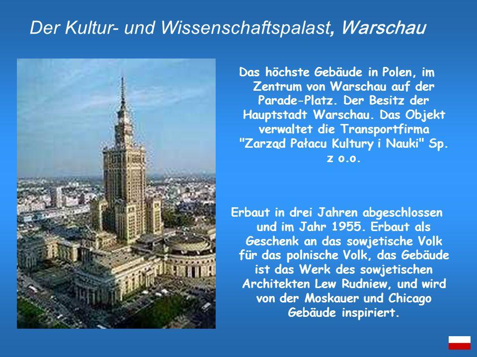 Der Kultur- und Wissenschaftspalast, Warschau