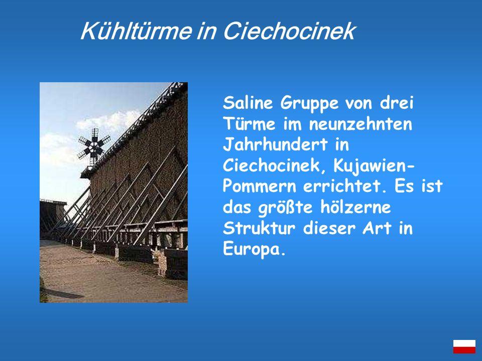 Kühltürme in Ciechocinek