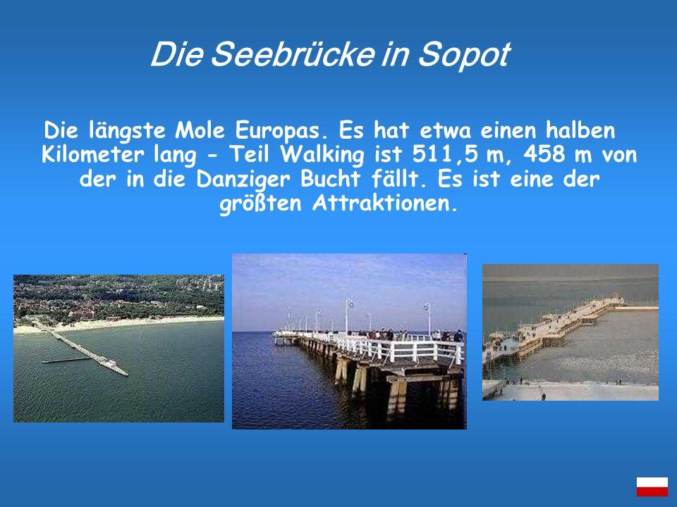 Die Seebrücke in Sopot