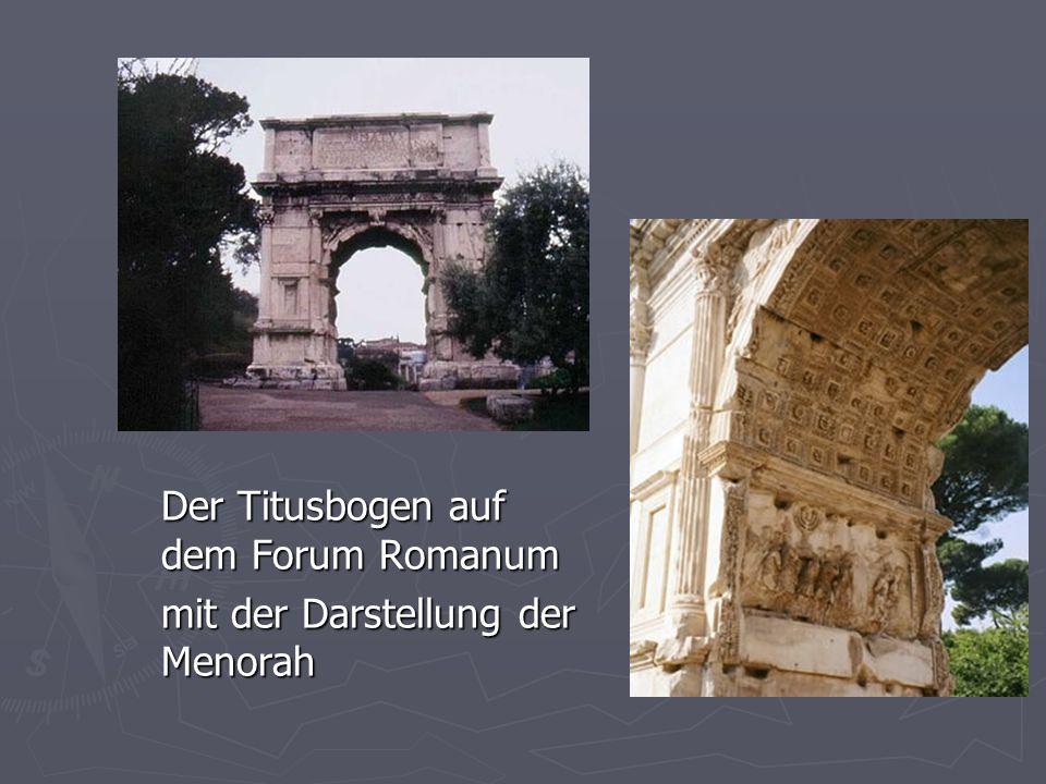 Der Titusbogen auf dem Forum Romanum