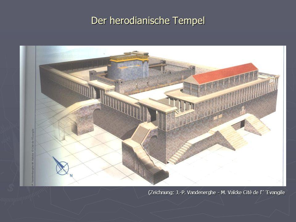 Der herodianische Tempel