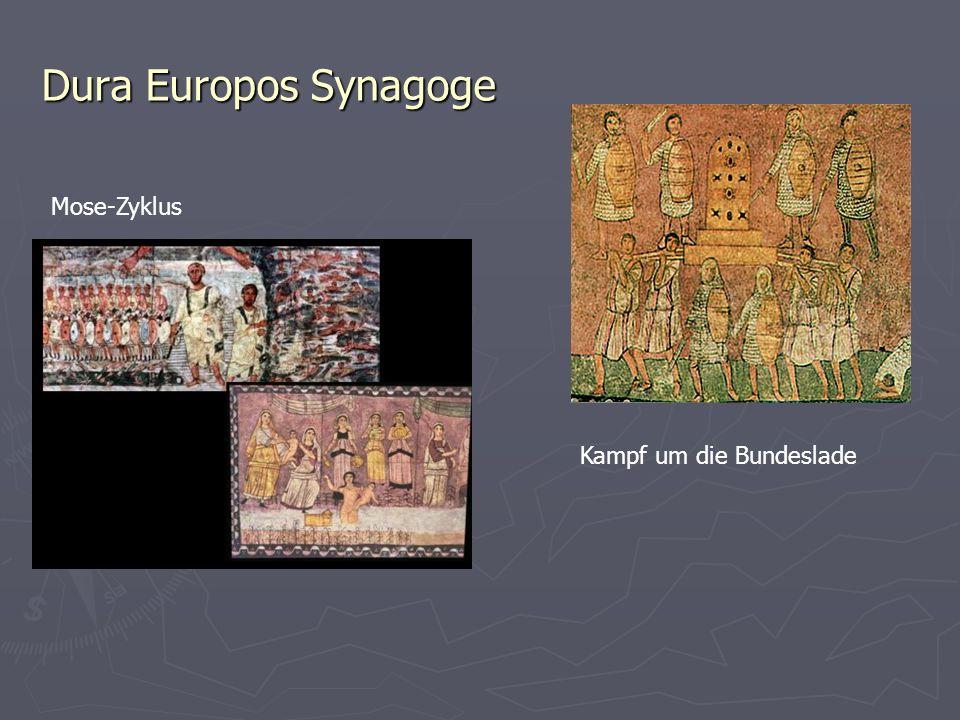 Dura Europos Synagoge Mose-Zyklus Kampf um die Bundeslade