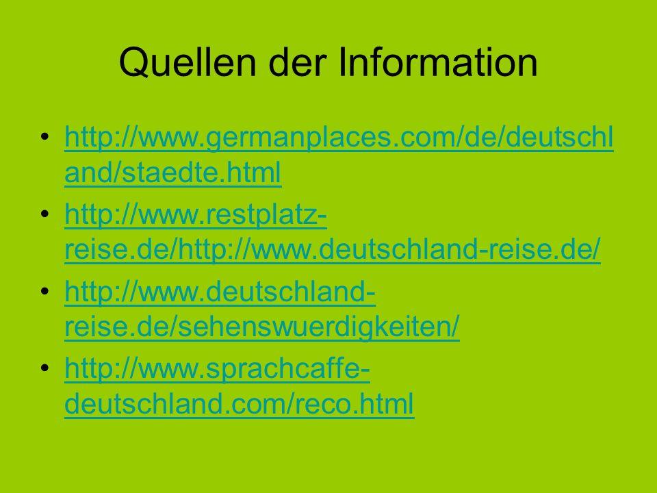 Quellen der Information