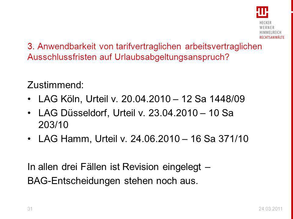LAG Düsseldorf, Urteil v. 23.04.2010 – 10 Sa 203/10