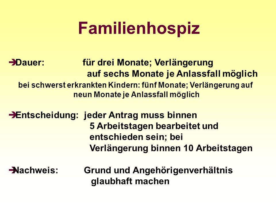 Familienhospiz
