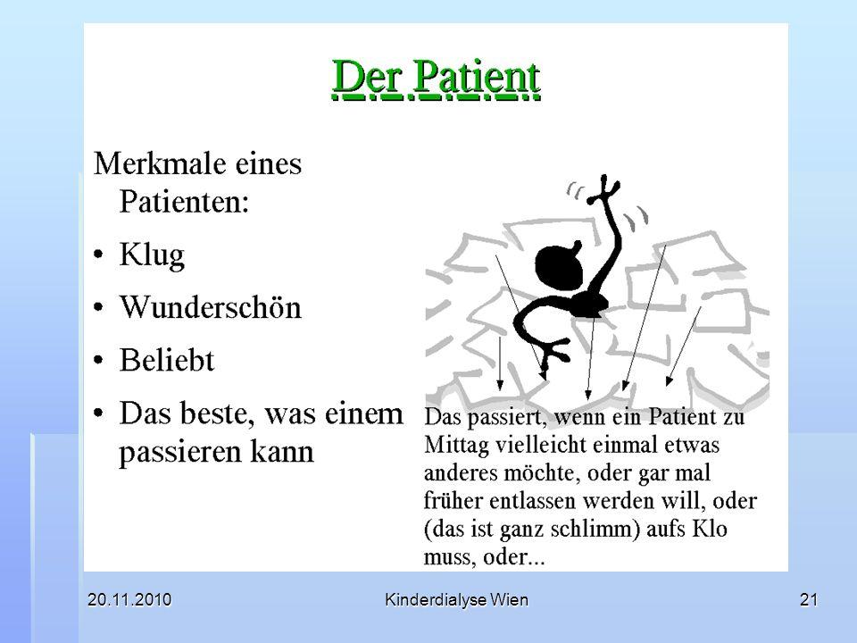 20.11.2010 Kinderdialyse Wien