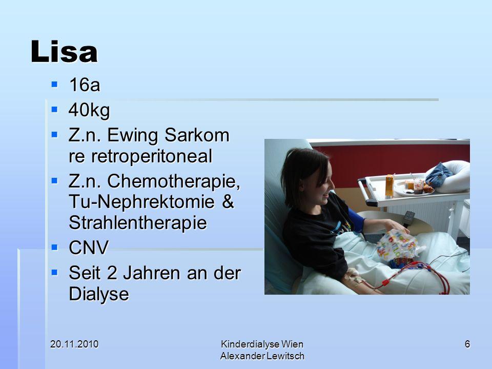 Kinderdialyse Wien Alexander Lewitsch
