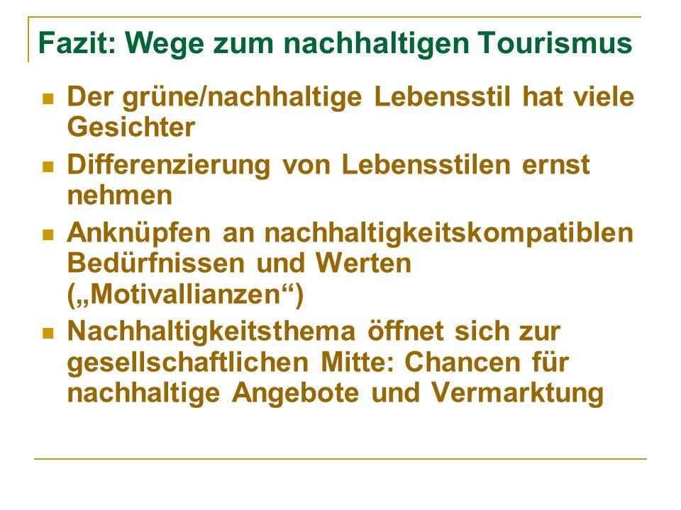 Fazit: Wege zum nachhaltigen Tourismus