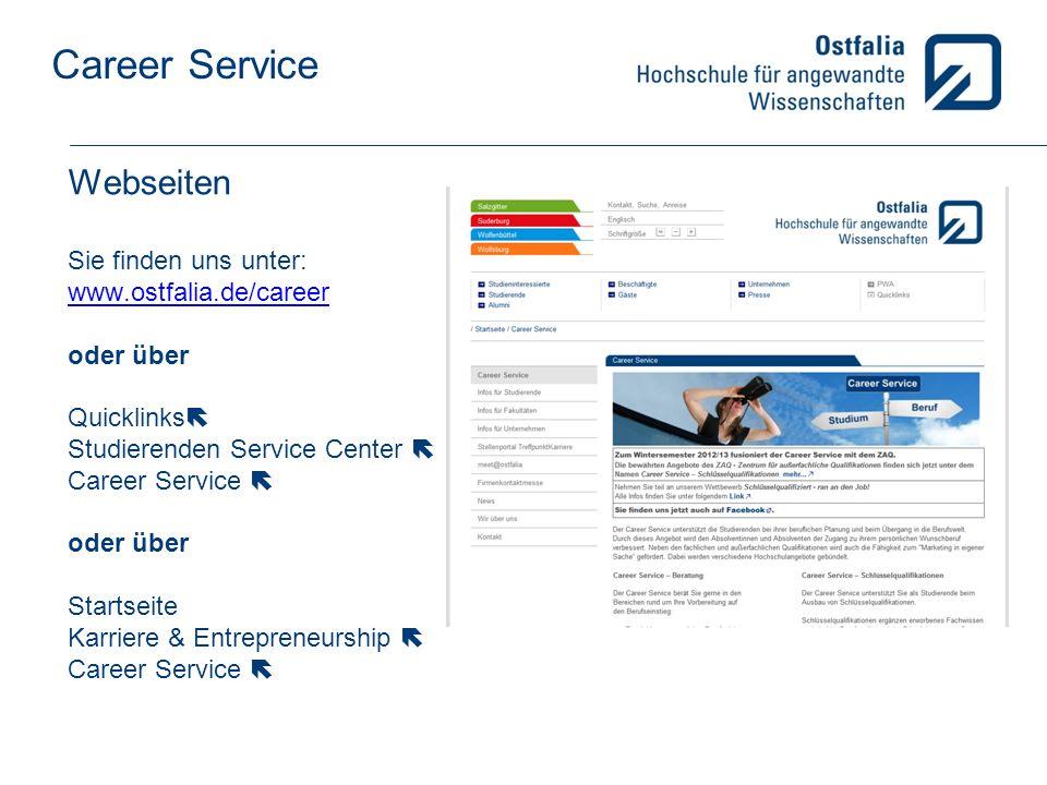 Webseiten Sie finden uns unter: www. ostfalia