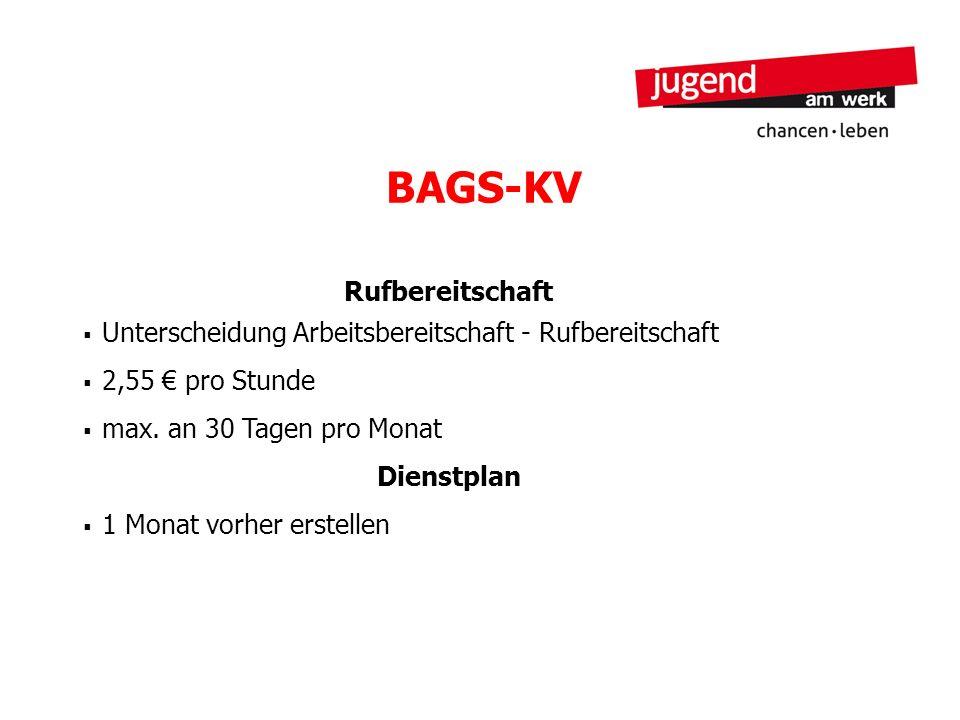 BAGS-KV Rufbereitschaft