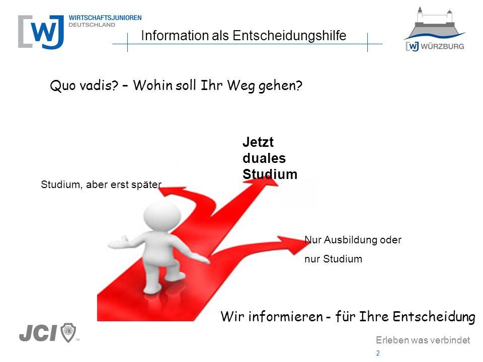 Information als Entscheidungshilfe