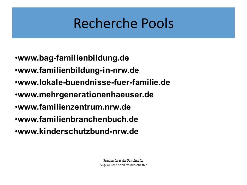 Recherche Pools www.bag-familienbildung.de