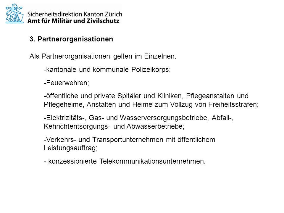 3. Partnerorganisationen