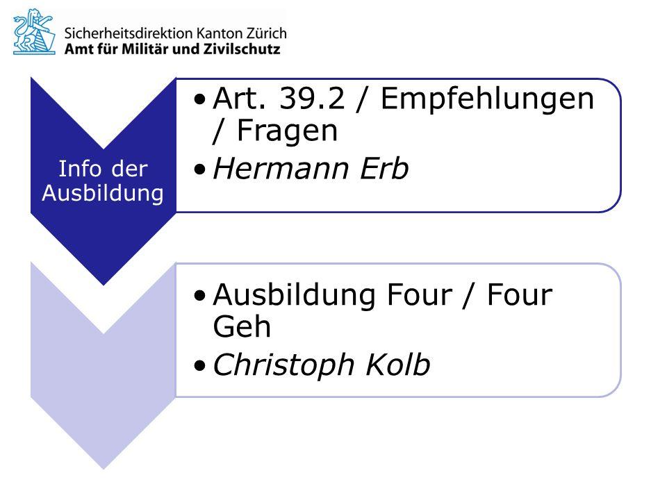 Art. 39.2 / Empfehlungen / Fragen Hermann Erb