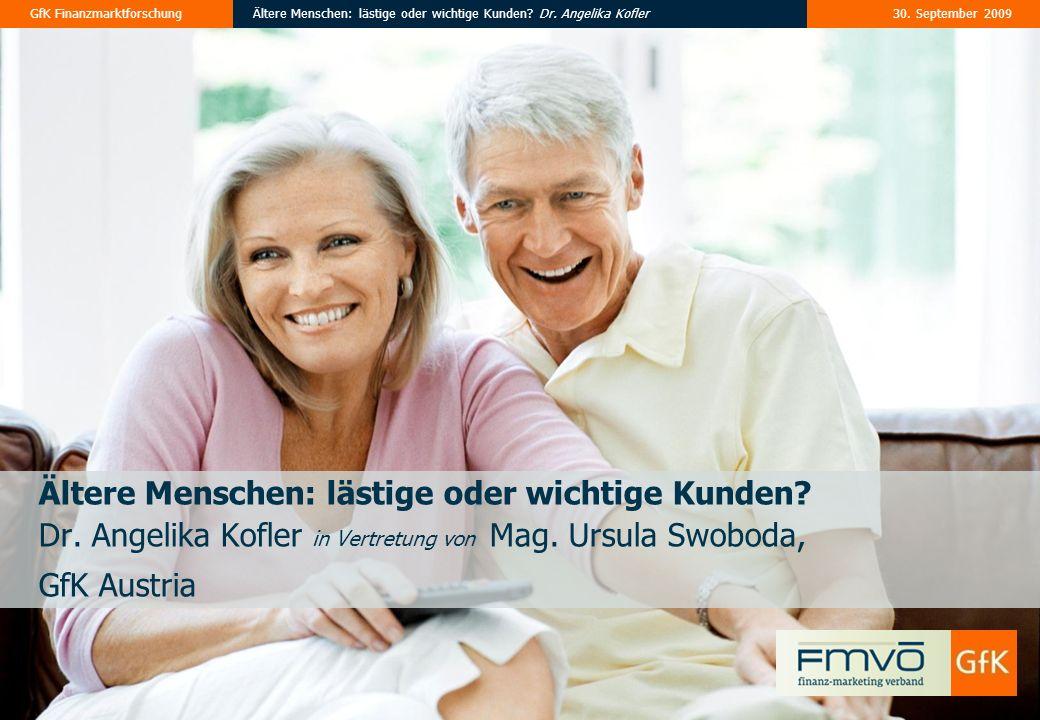 Ältere Menschen: lästige oder wichtige Kunden. Dr