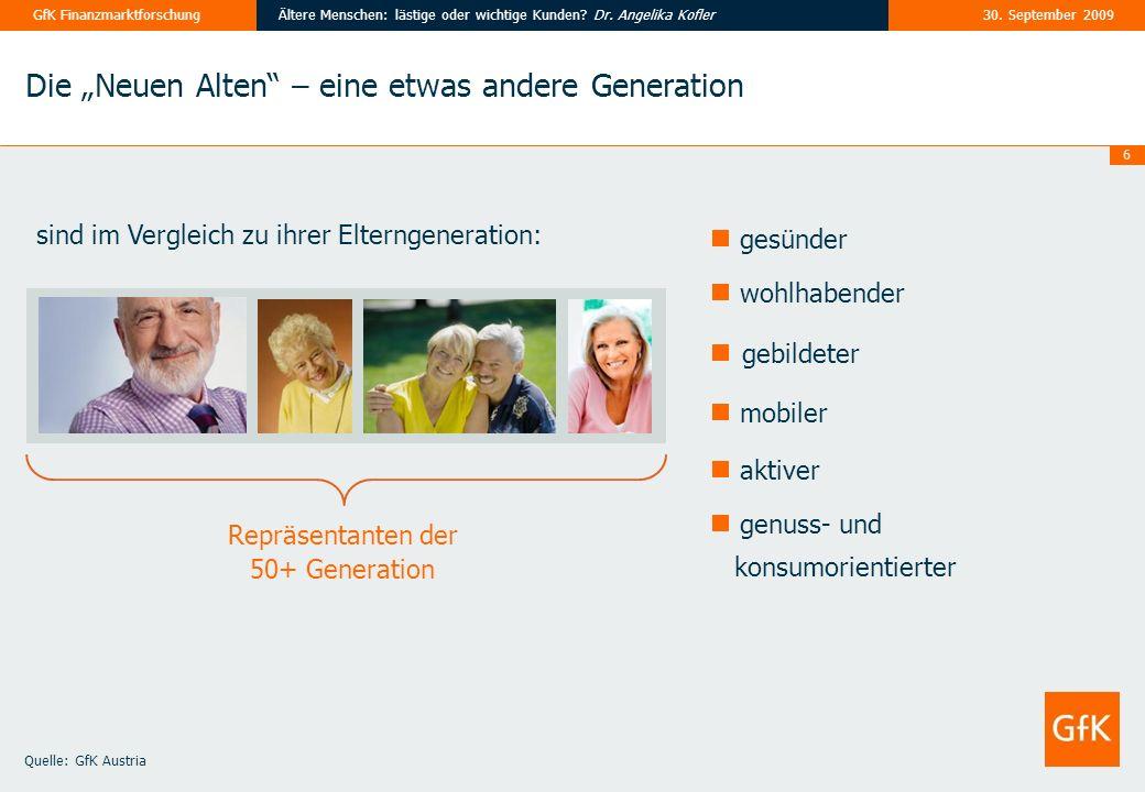 """gebildeter Die """"Neuen Alten – eine etwas andere Generation gesünder"""