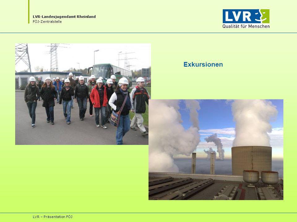 Exkursionen LVR – Präsentation FÖJ