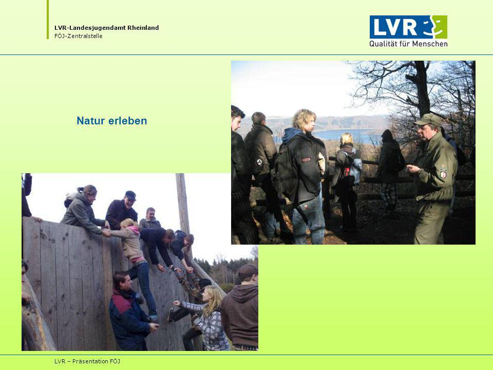 Natur erleben LVR – Präsentation FÖJ