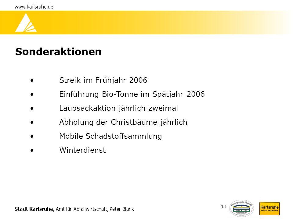 Sonderaktionen Streik im Frühjahr 2006