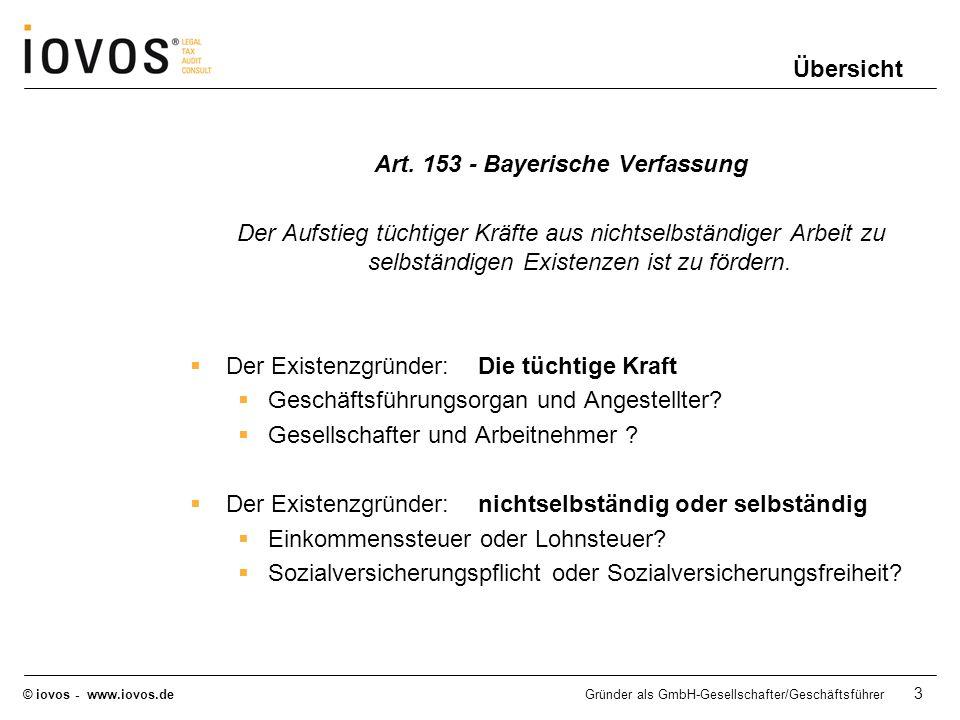 Art. 153 - Bayerische Verfassung
