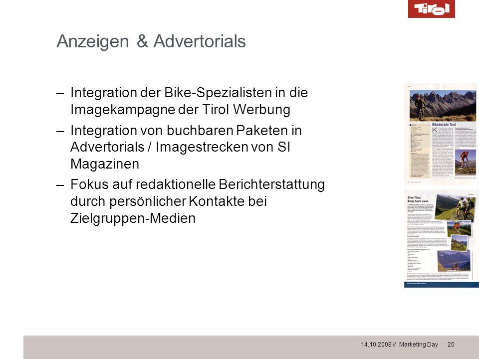 Anzeigen & Advertorials