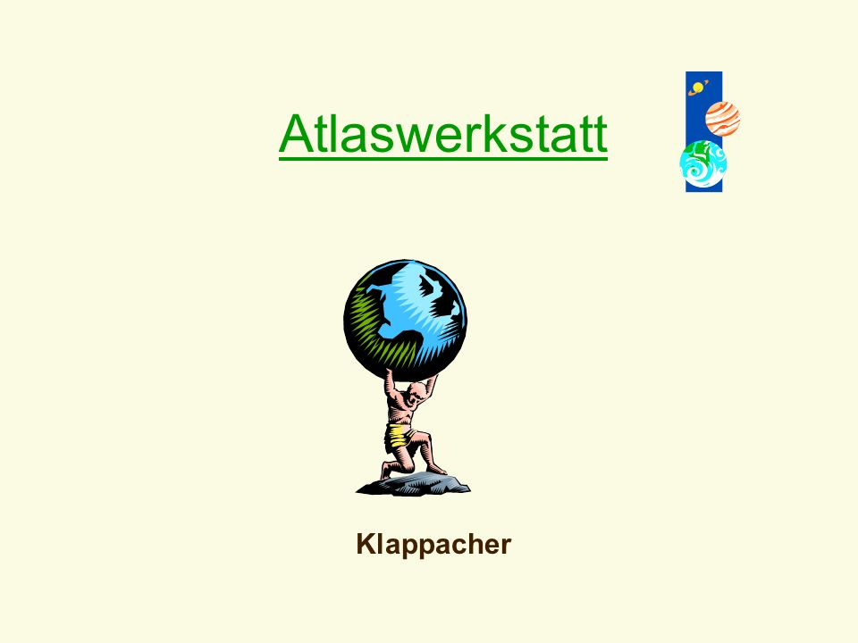 Atlaswerkstatt Klappacher