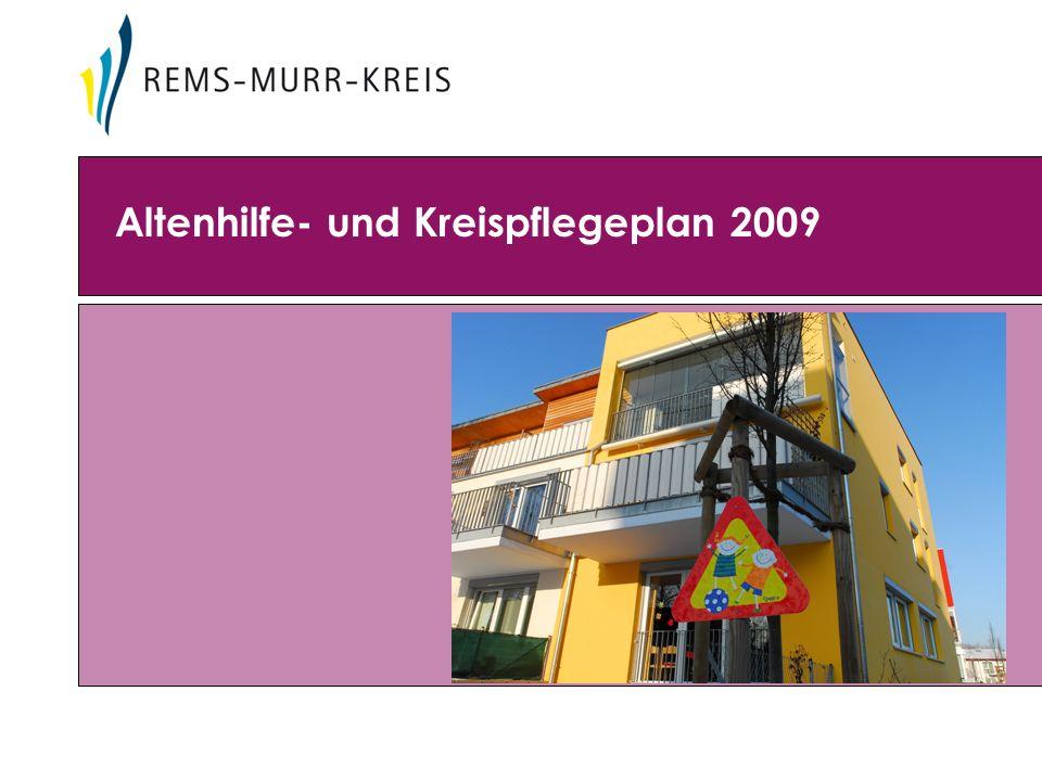 Altenhilfe- und Kreispflegeplan 2009