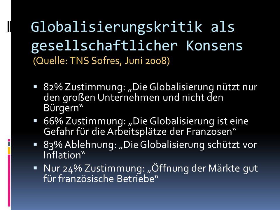 Globalisierungskritik als gesellschaftlicher Konsens