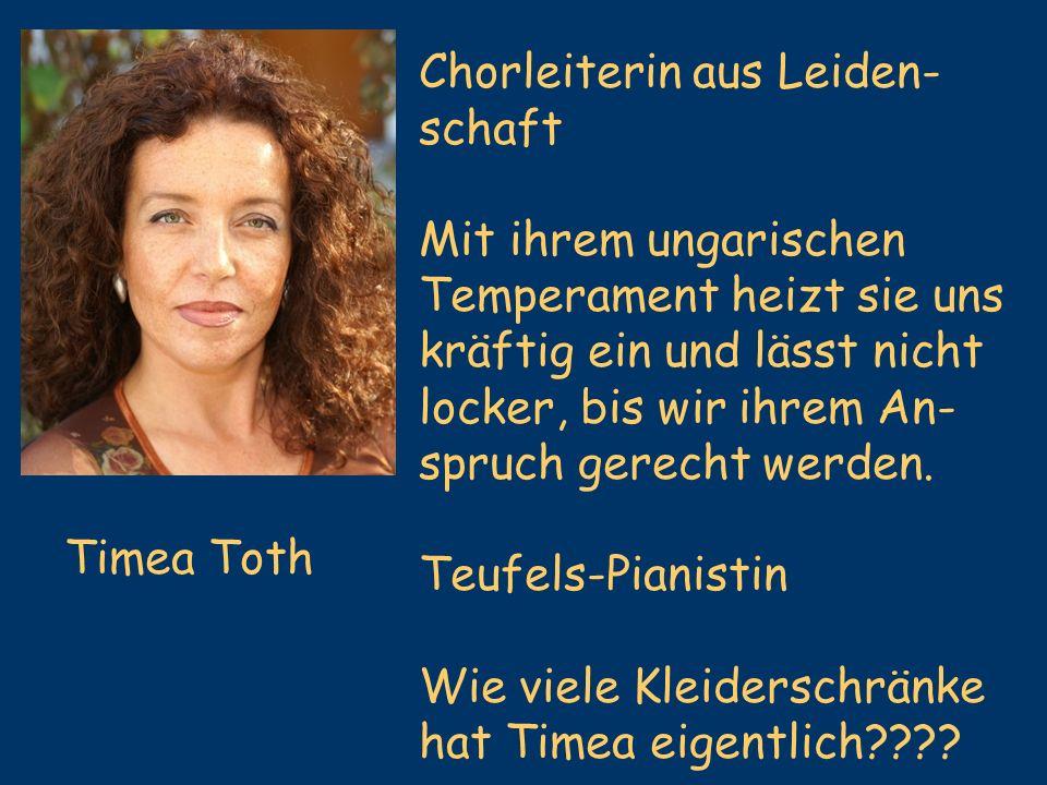 Chorleiterin aus Leiden-