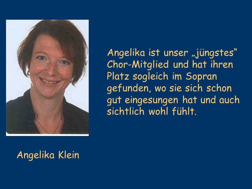 """Angelika ist unser """"jüngstes"""