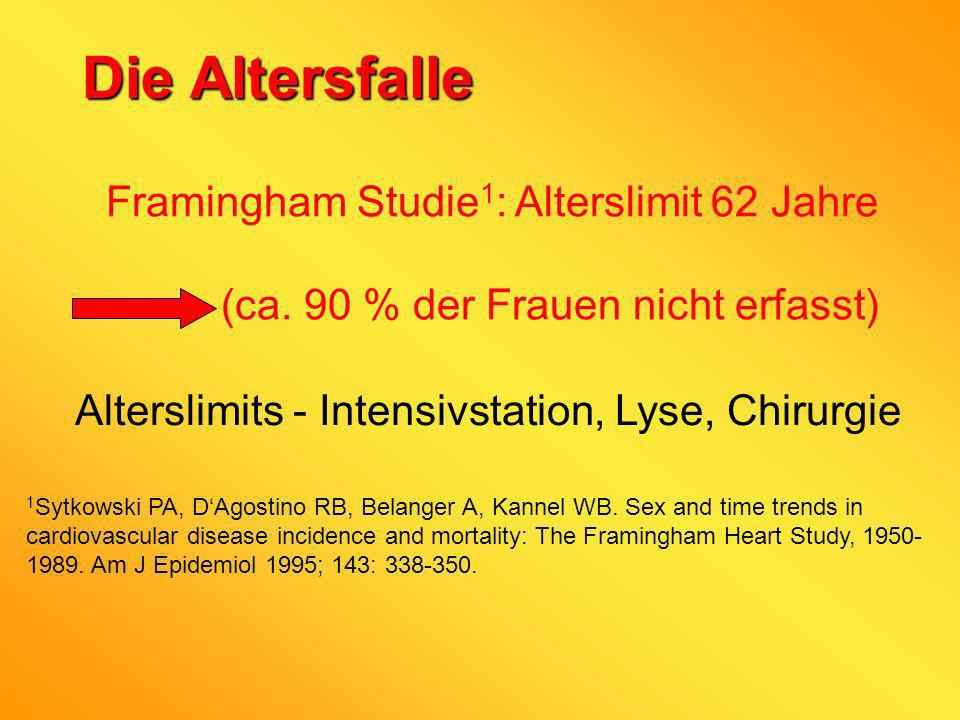 Alterslimits - Intensivstation, Lyse, Chirurgie