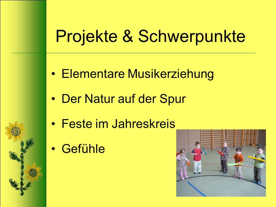 Projekte & Schwerpunkte