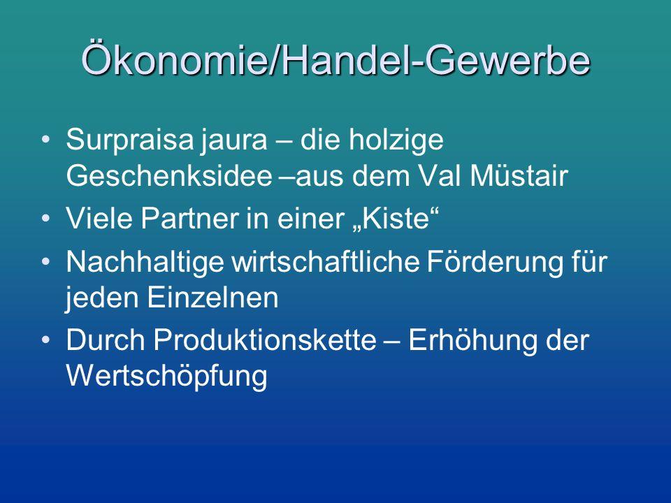 Ökonomie/Handel-Gewerbe