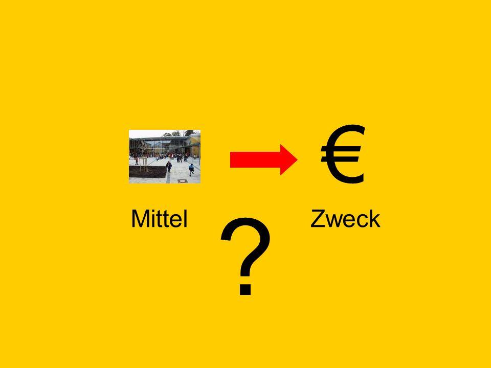 € Mittel Zweck © Dr. Kai Romhardt www.romhardt.com