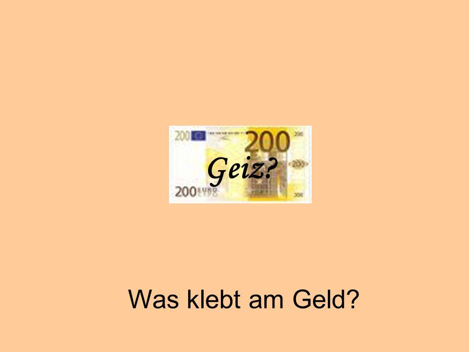 Geiz Geiz Was klebt am Geld © Dr. Kai Romhardt www.romhardt.com
