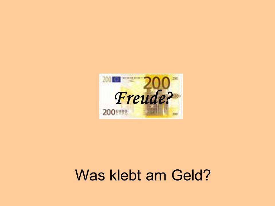 Geiz Freude Was klebt am Geld © Dr. Kai Romhardt www.romhardt.com