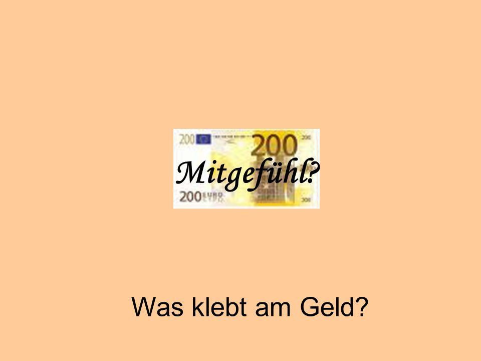 Geiz Mitgefühl Was klebt am Geld © Dr. Kai Romhardt www.romhardt.com