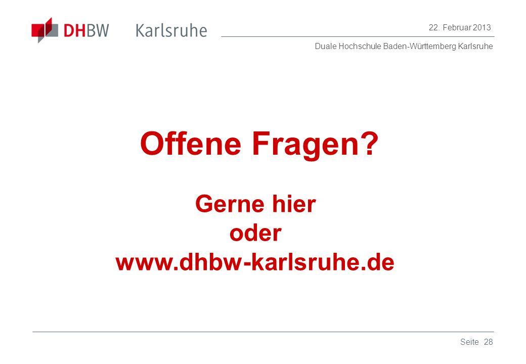 Gerne hier oder www.dhbw-karlsruhe.de