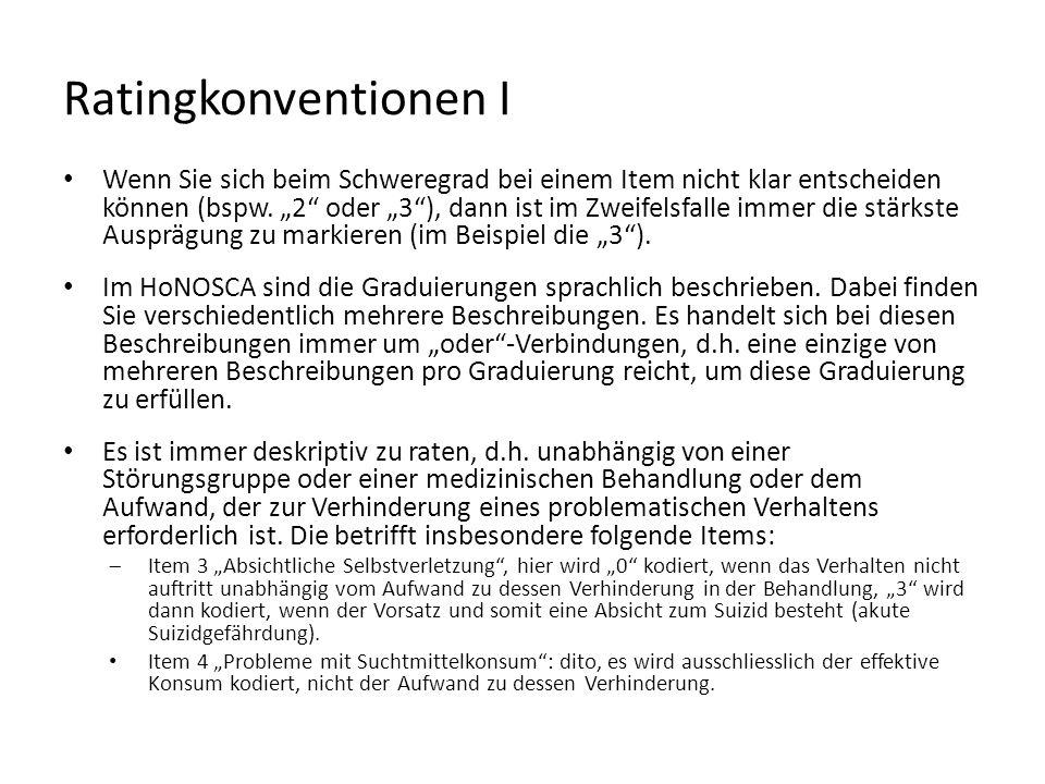 Ratingkonventionen I