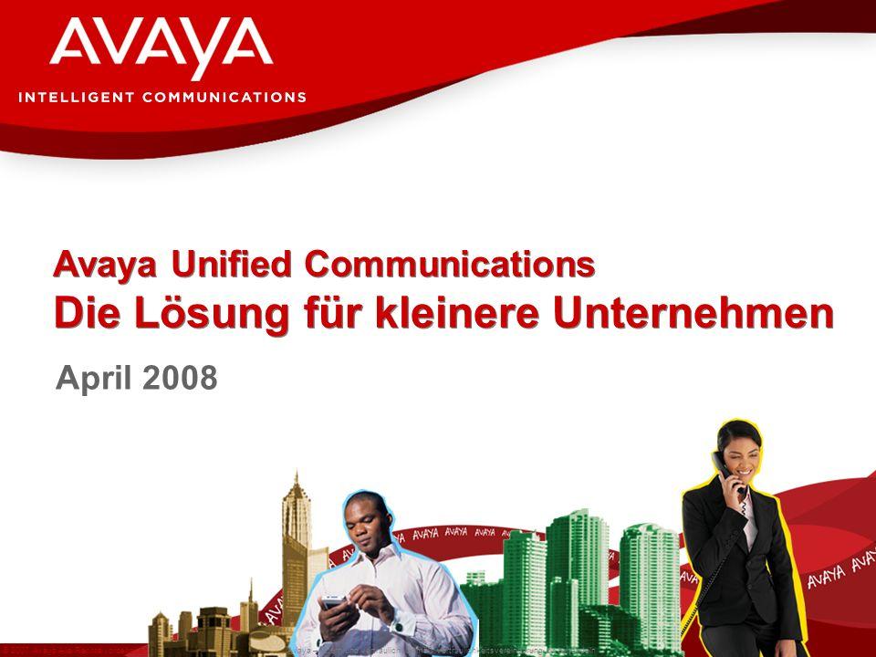 Avaya Unified Communications Die Lösung für kleinere Unternehmen