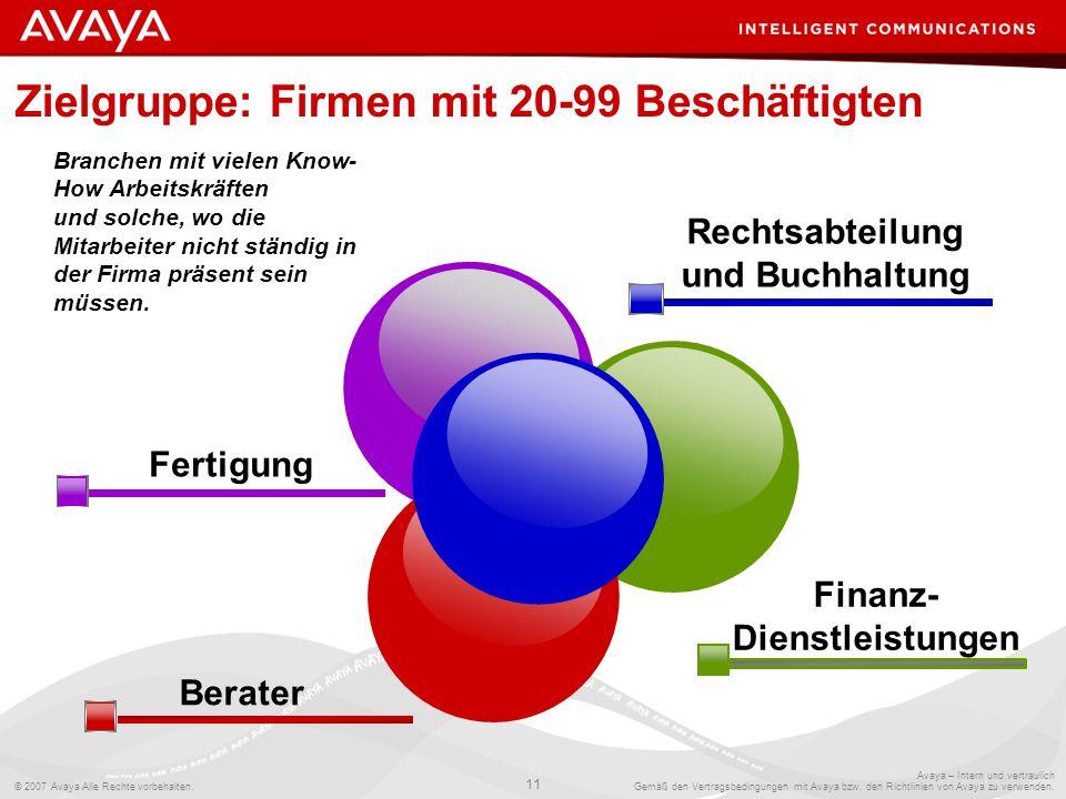 Zielgruppe: Firmen mit 20-99 Beschäftigten