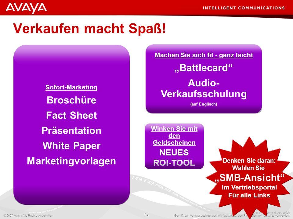 """Verkaufen macht Spaß! """"Battlecard Audio-Verkaufsschulung Broschüre"""