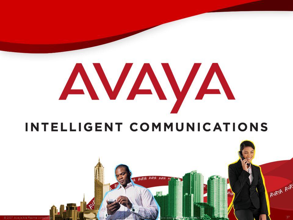 © 2007 Avaya Alle Rechte vorbehalten.