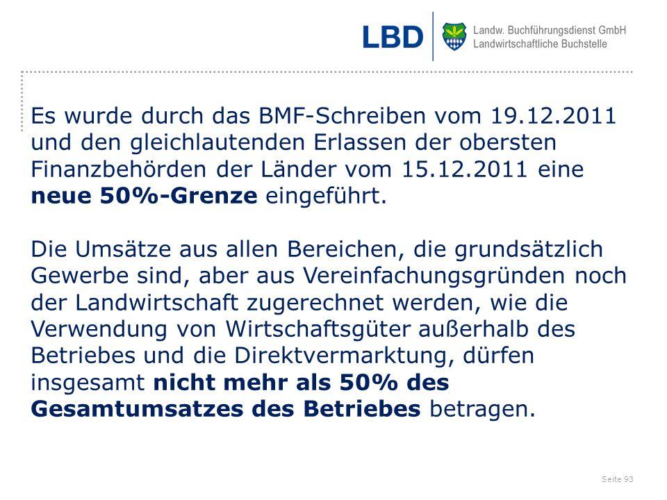 Es wurde durch das BMF-Schreiben vom 19. 12