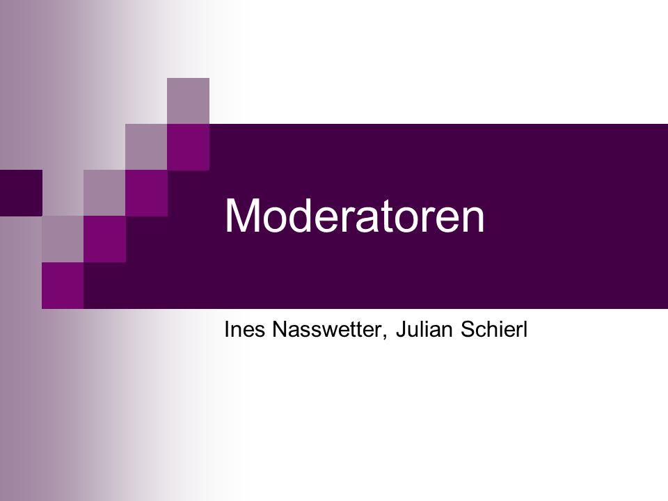Ines Nasswetter, Julian Schierl