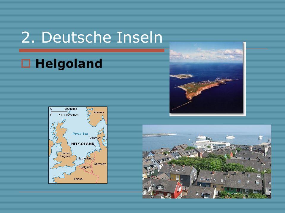 2. Deutsche Inseln Helgoland