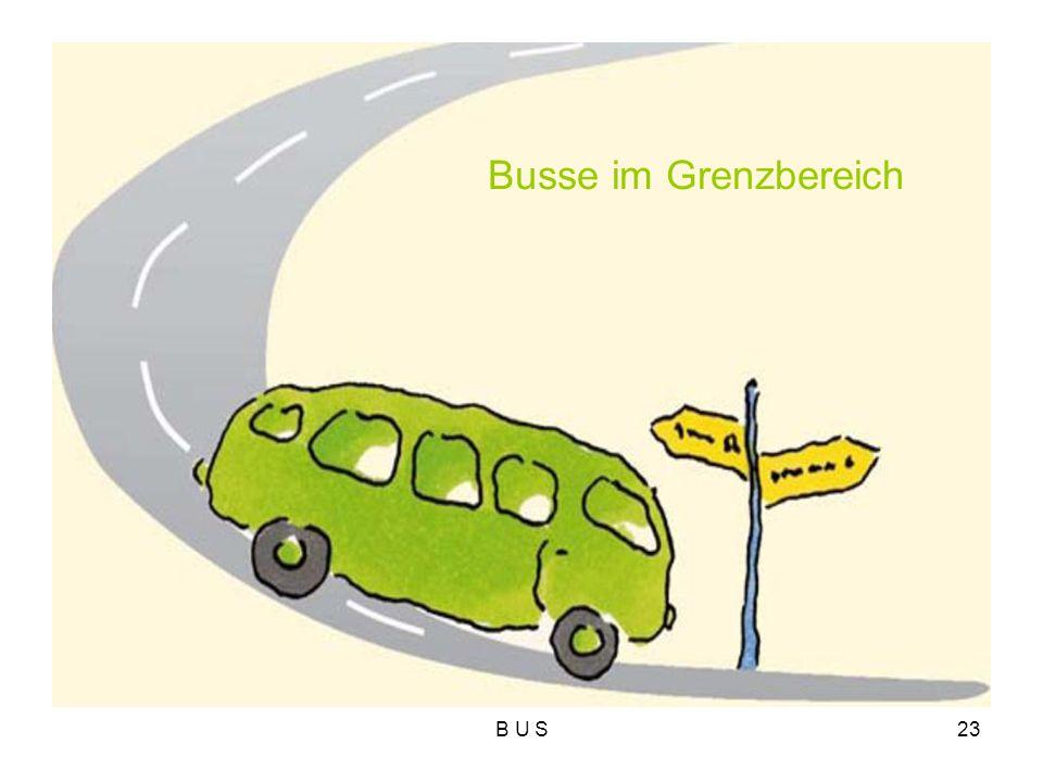 Busse im Grenzbereich B U S