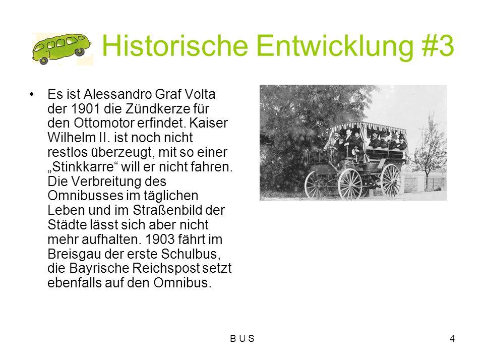 Historische Entwicklung #3